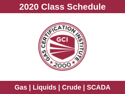 2020 gci class schedule gas certification institute houston texas