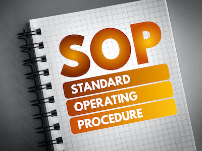 measurement policy sop template gas certification institute houston texas